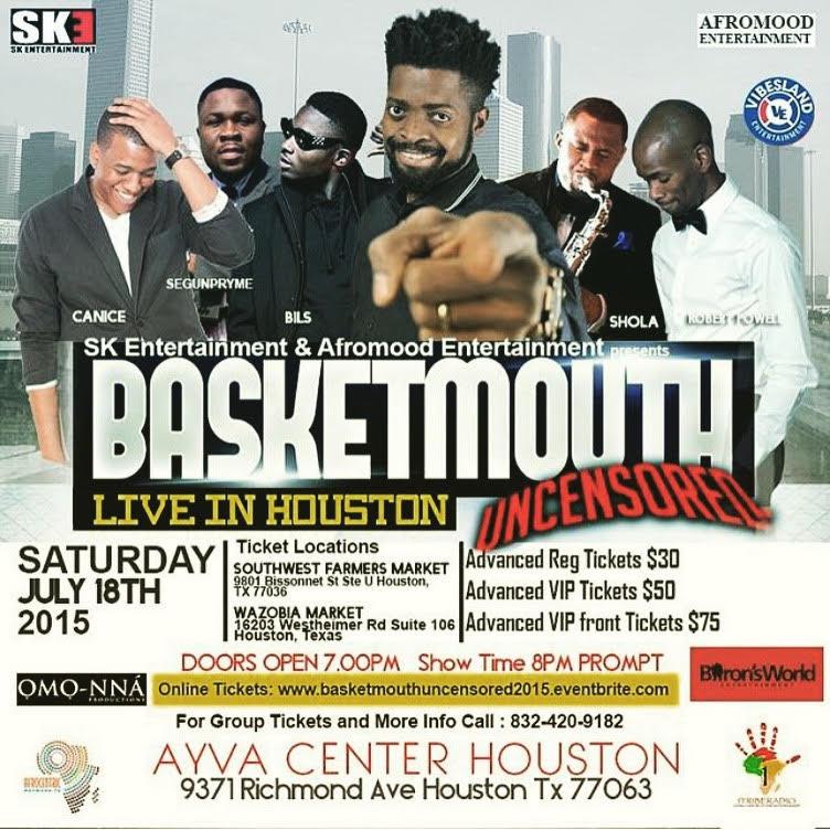 Basketmouth flyer